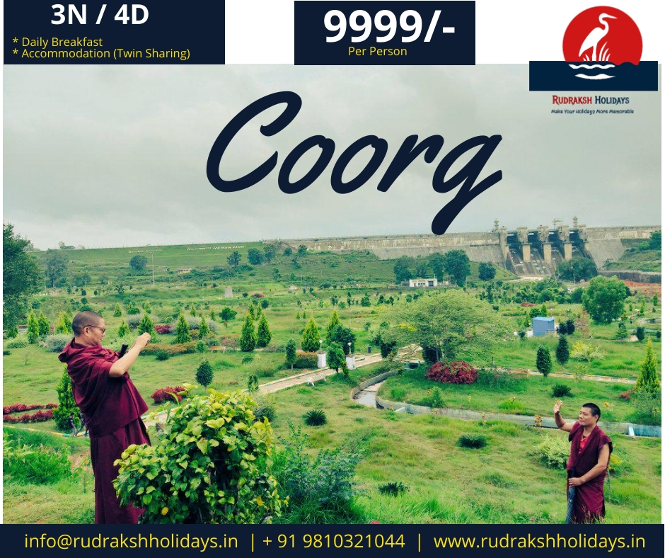 Coorg Tour Packages - 9999/- All