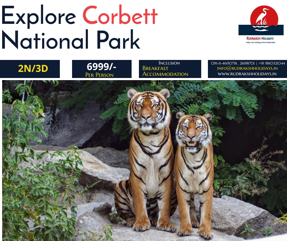 Corbett Tour Packages - 6999/- All