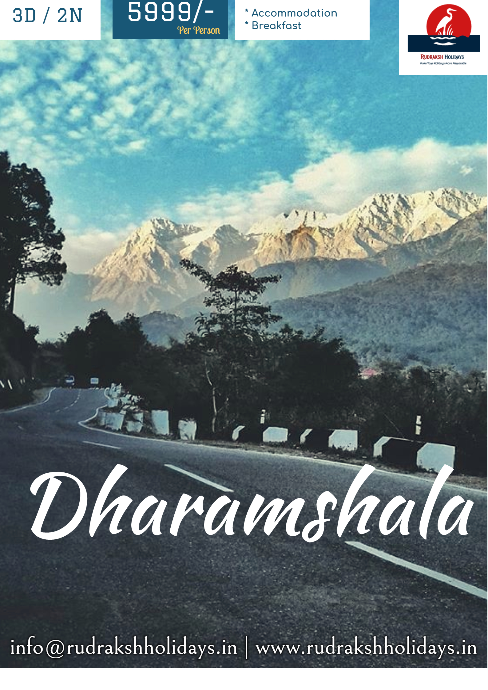 Dharamshala Tour Packages - 5999/- All