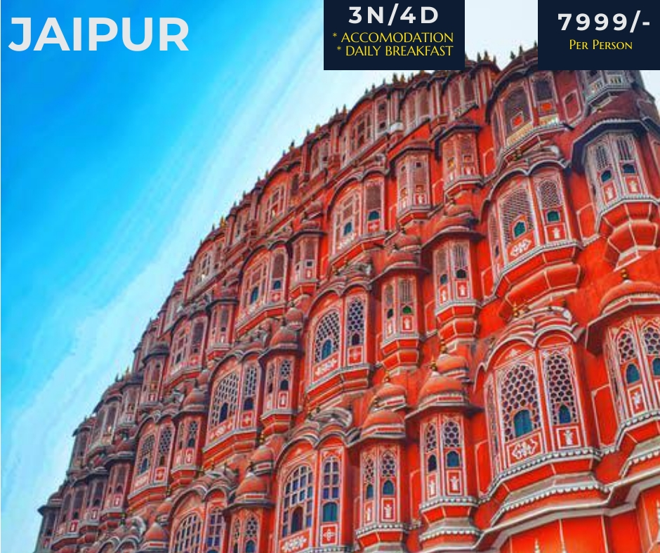 Jaipur Tour Packages - 7999/- All