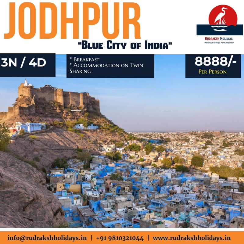 Jodhpur Tour Packages - 8888/- All